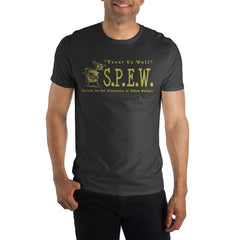 Harry Potter Hermoine Granger's S.P.E.W. Women's Black T-Shirt