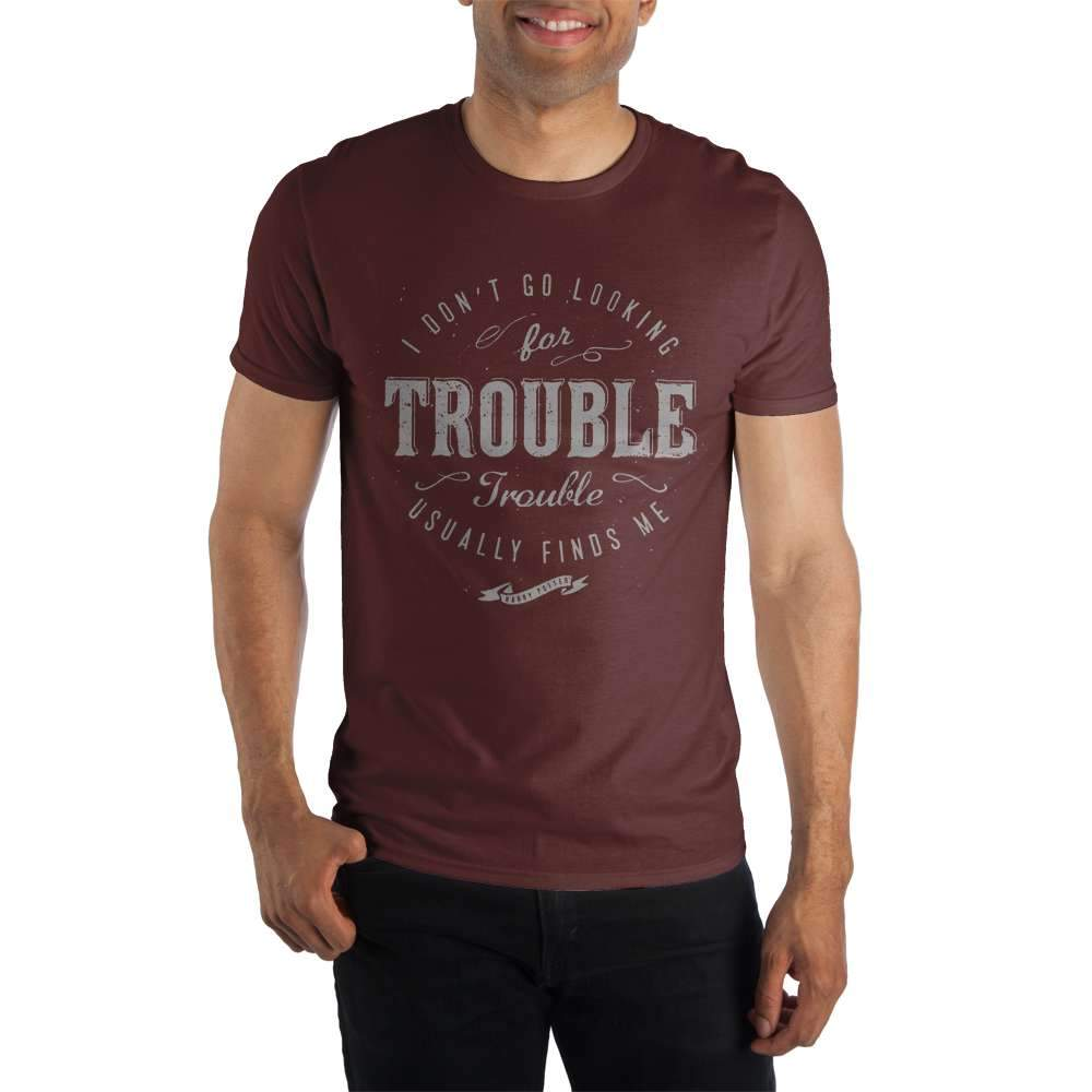 Harry Potter and the Prisoner of Azkaban I Don't Go Looking For Trouble. Trouble Usually Finds Me. Women's Red T-Shirt