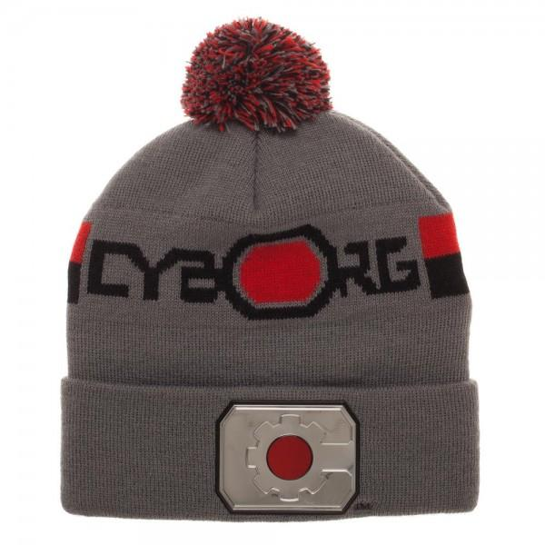 Cyborg Chrome Weld Knit Beanie