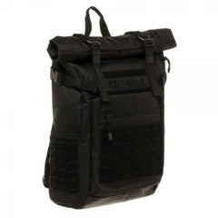 Call of Duty Black Military Roll Top Backpack with Laser Cuts