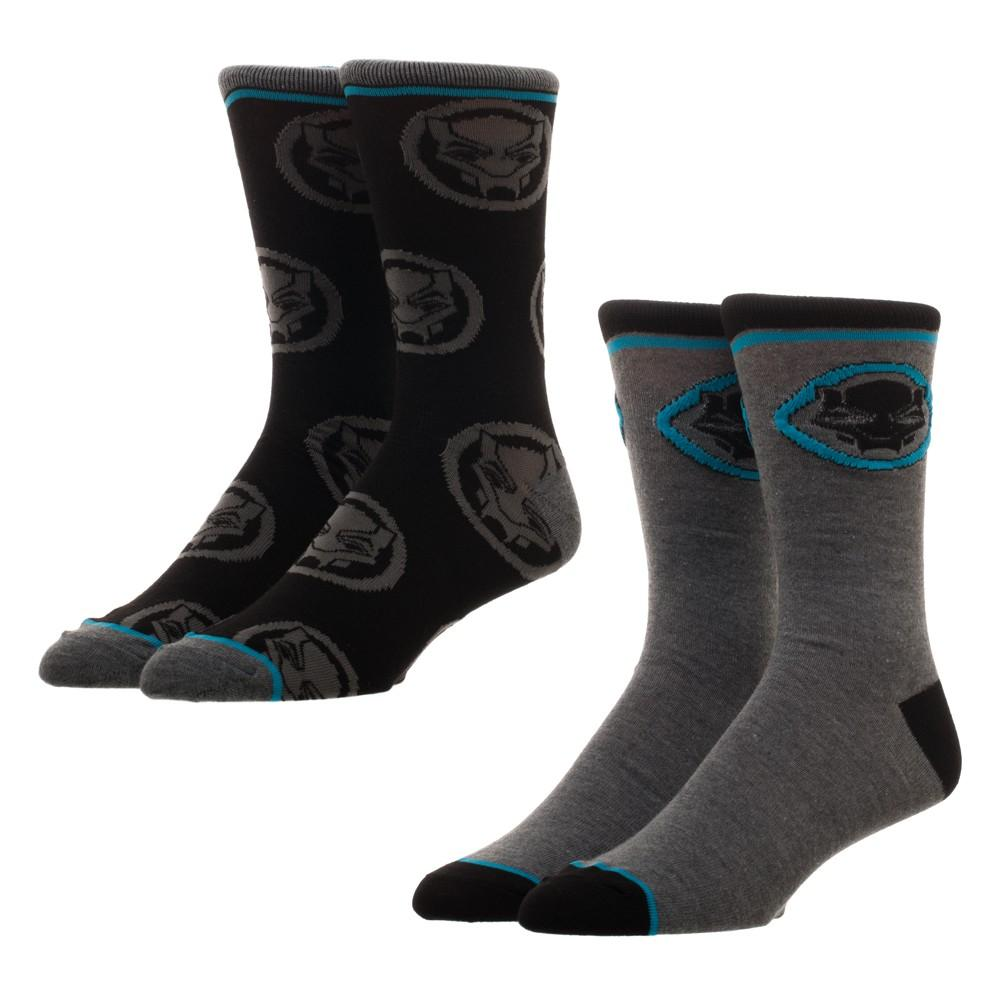 Black Panther 2 Pack Crew Socks