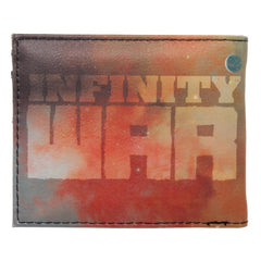 Thanos Gauntlet with Infinity Stones Nylon Printed Bi Fold Wallet