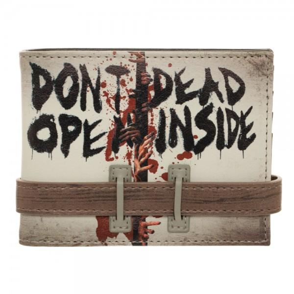 The Walking Dead Don't Open Bi-Fold Wallet