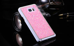 Luxury Fashion Chrome Crystal Diamond Case For Iphone 6 6S 7 Plus 5 SE 5C 4S Samsung Galaxy Note 7 5 4 3 S7 S6 Edge Plus S5/4/3
