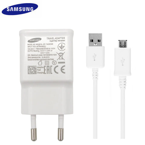 Samsung Fast Charge 2.0 Adaptive Fast Charger 9V 1.67A & 5V 2A EU/US Plug for NOTE4 / Galaxy S6/S7 etc. phone