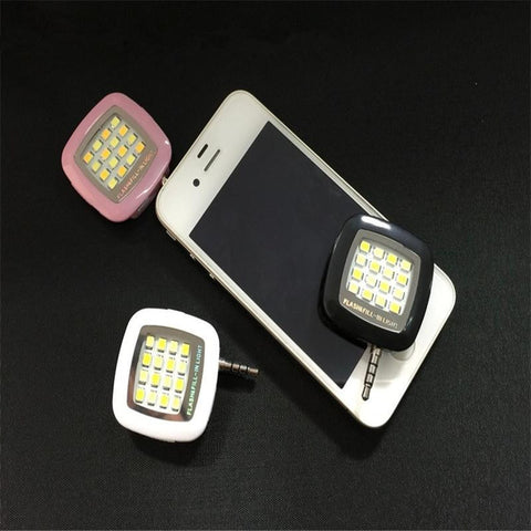 New iBlazr 16 LED Powerful Flash Light For iPhone 5/6/6 Plus iPad Andriod Phone