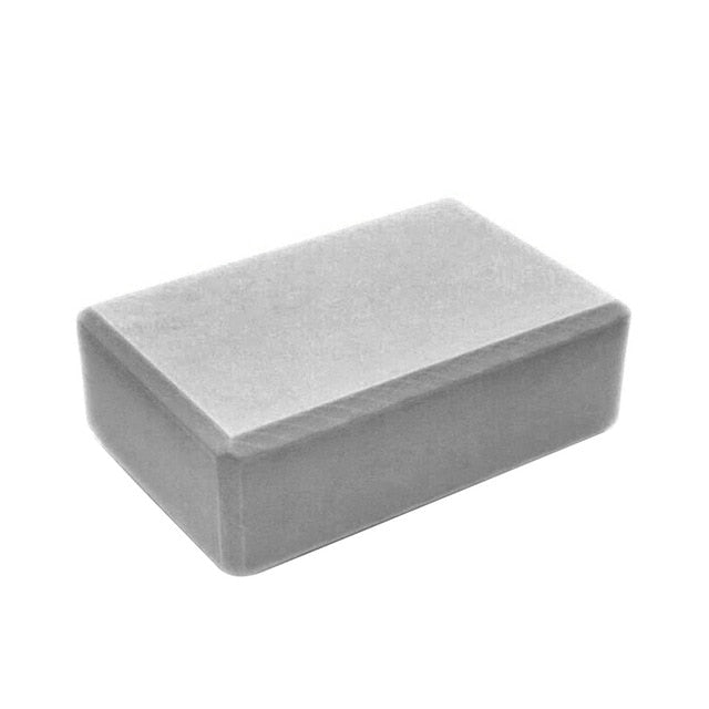 "High-Density 3"" Foam Yoga Block"