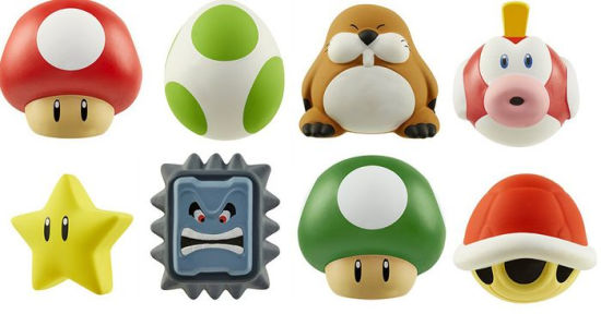 Nintendo - Squish Delish W2 random assortment /Merchandise
