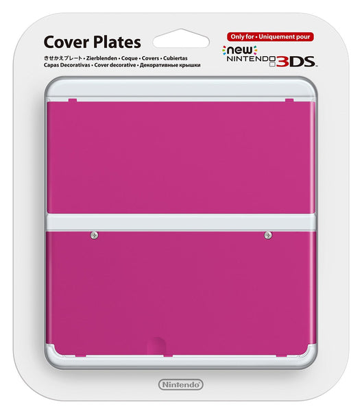 Nintendo Official Cover Plate for New 3DS - Pink /3DS