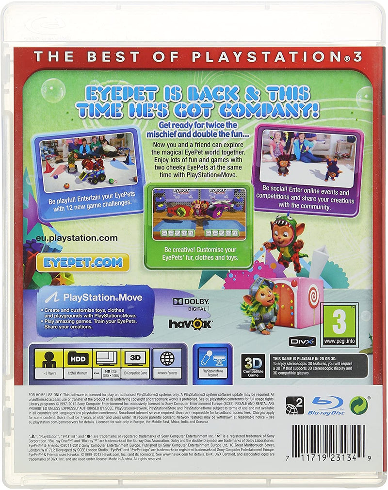 EyePet & Friends (Essentials) /PS3
