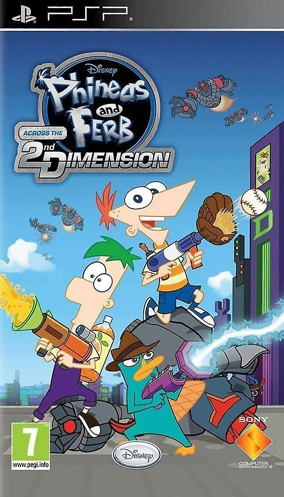 Phineas & Ferb: Across the Second Dimension /PSP