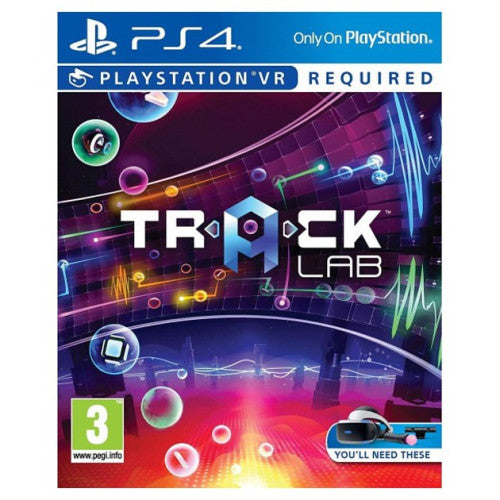 Track Lab (For Playstation VR) (Nordic Box -  EFIGS In Game) /PS4