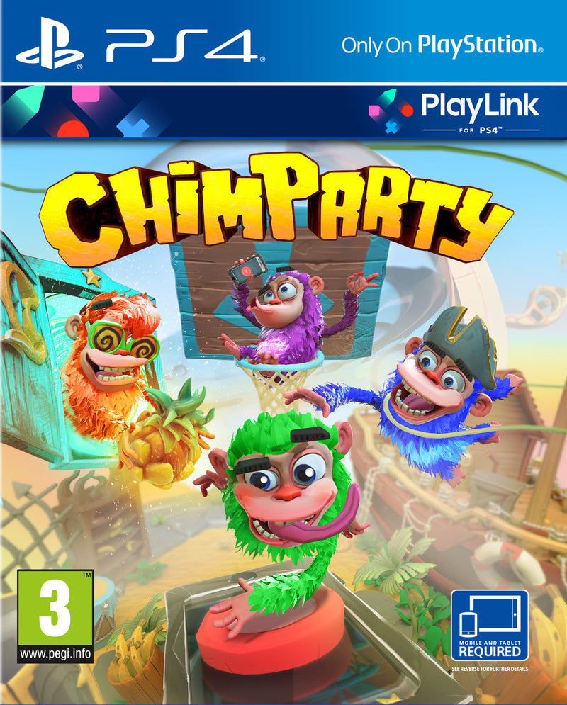 Chimparty (Nordic Box - Multi lang in game) /PS4