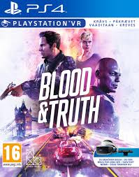 Blood and Truth (For Playstation VR) (Nordic Box -  EFIGS In Game) /PS4