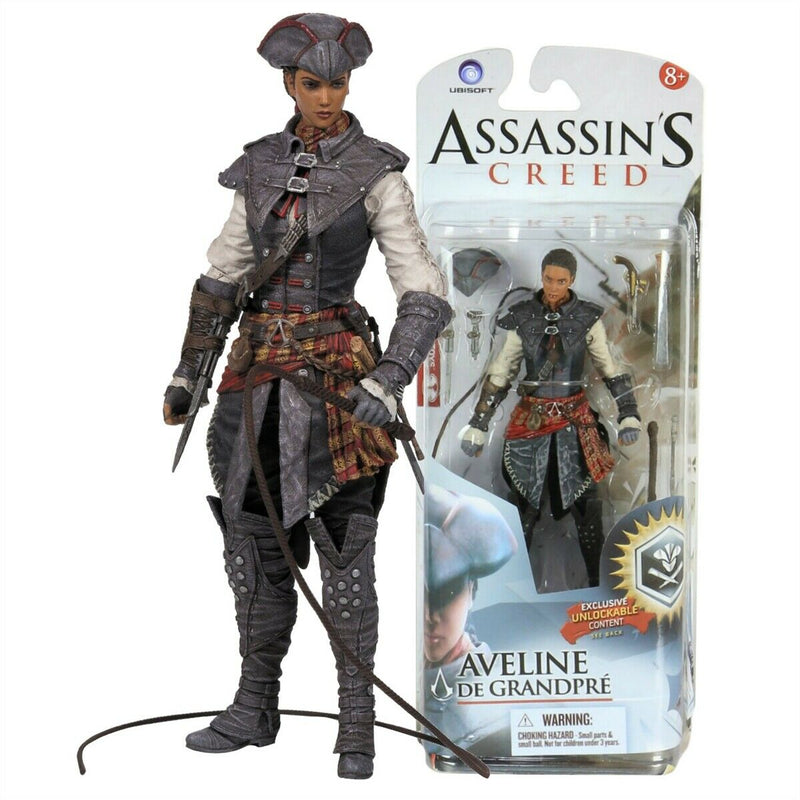 "7"" Assassins Creed Figure Aveline de Granpre  /Figures"