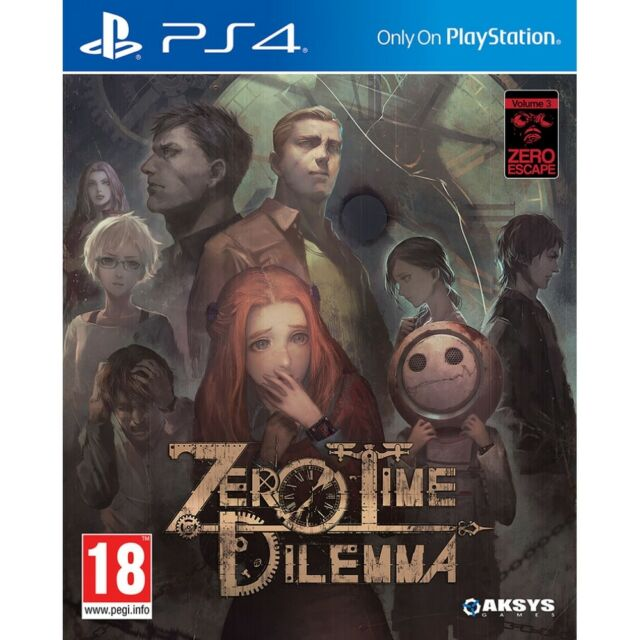 Zero Time Dilemma /PS4