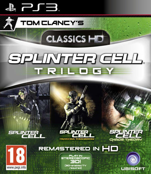 Tom Clancy's Splinter Cell: Trilogy HD /PS3