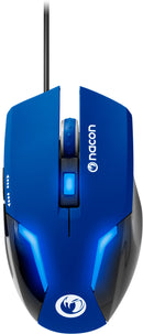 Nacon GM-105BLUE Wired Gaming Mouse - Optical Sensor - 2400DPI - 1.5m Cable (Blue) /PC