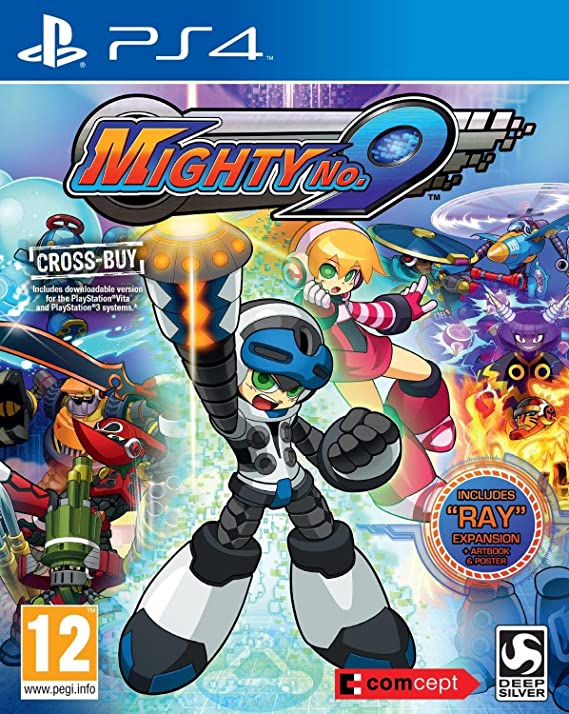 Mighty No.9 + Ray Expansion (Cross-Buy: Includes PS3 & Vita Downloadable Version) /PS4