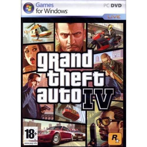 Grand Theft Auto IV (CANNOT BE SOLD AS CODES) /PC