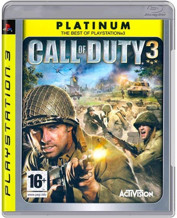 Call of Duty 3 (PLATINUM) /PS3