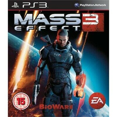 Mass Effect 3 (French Box Multi Language in Game) /PS3