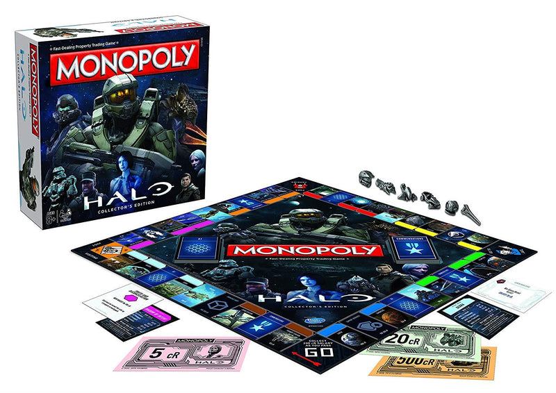 Monopoly Halo /BoardGame