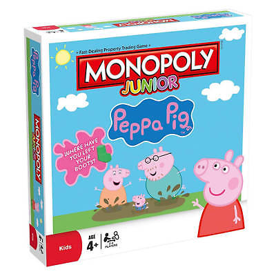 Monopoly Peppa Pig Junior /BoardGame