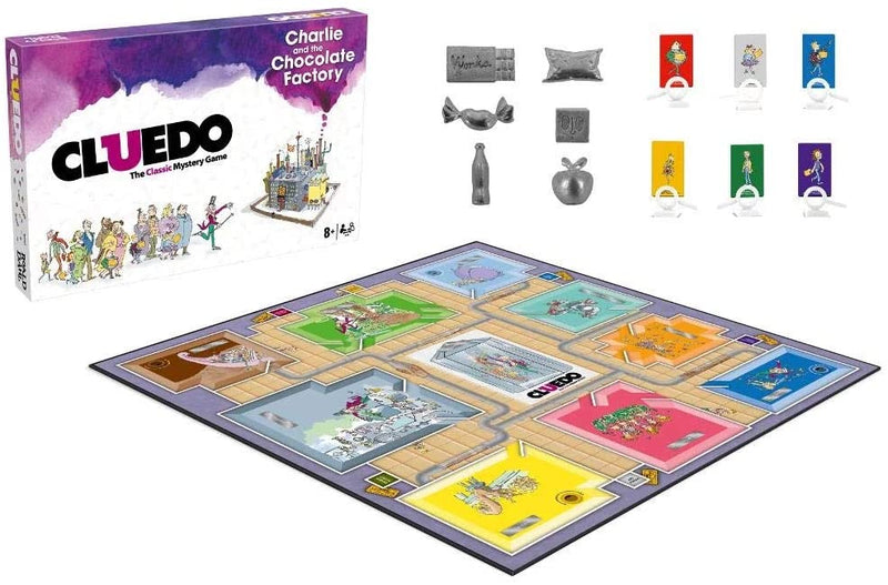 Cluedo - Charlie and the Chocolate factory /Boardgames