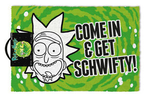 Rick and Morty Schwifty) Door Mat /Merchandise