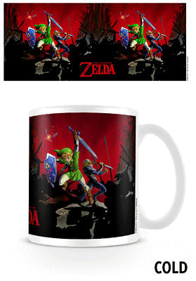 Nintendo Mug Zelda (BATTLE) heat change mug /Merchandise