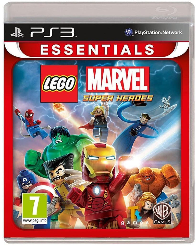 Lego Marvel Super Heroes (Essentials) (Eng/Nordic) /PS3 (DELETED TITLE)