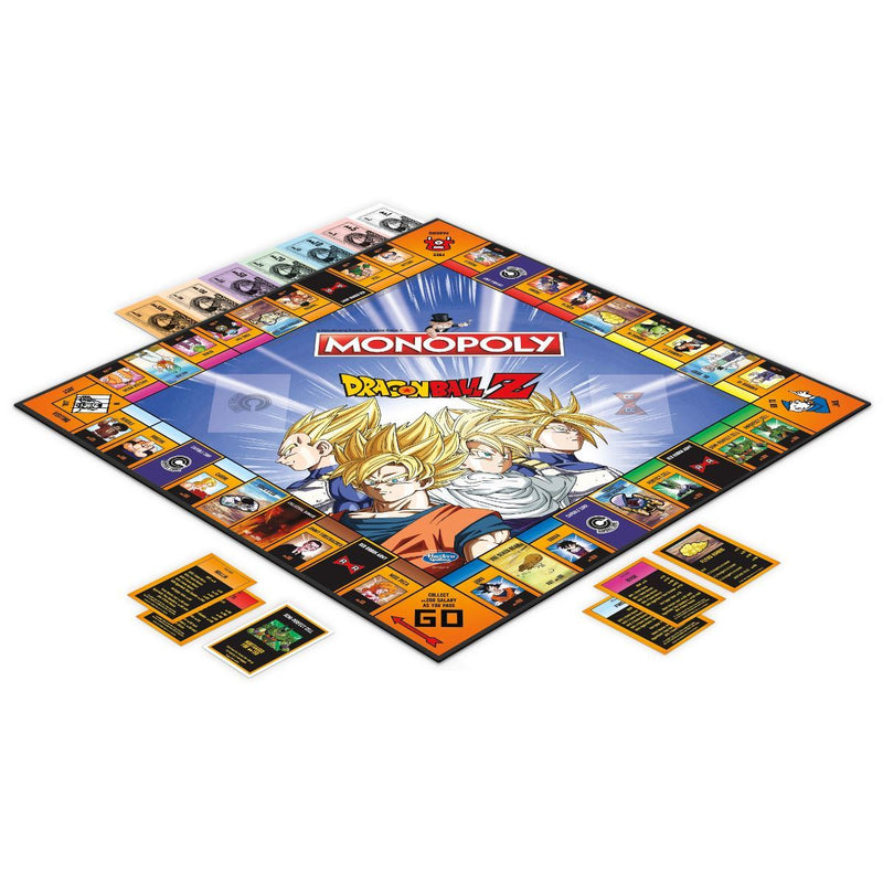 Monopoly Dragon Ball Z Edition /Boardgame