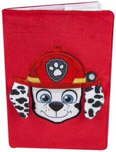PAW PATROL Marshall A5 Plush Notebook /Stationery