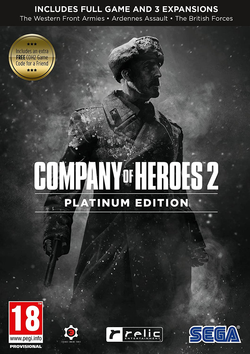 Company of Heroes 2 Platinum Edition (Inc. Extra Free COH2 Game Code) /PC