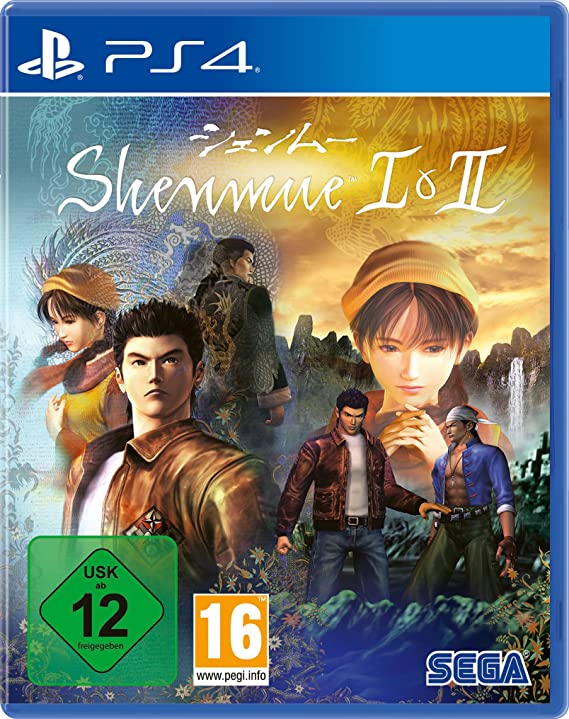 Shenmue 1 & 2 HD Remaster (German Box) /PS4