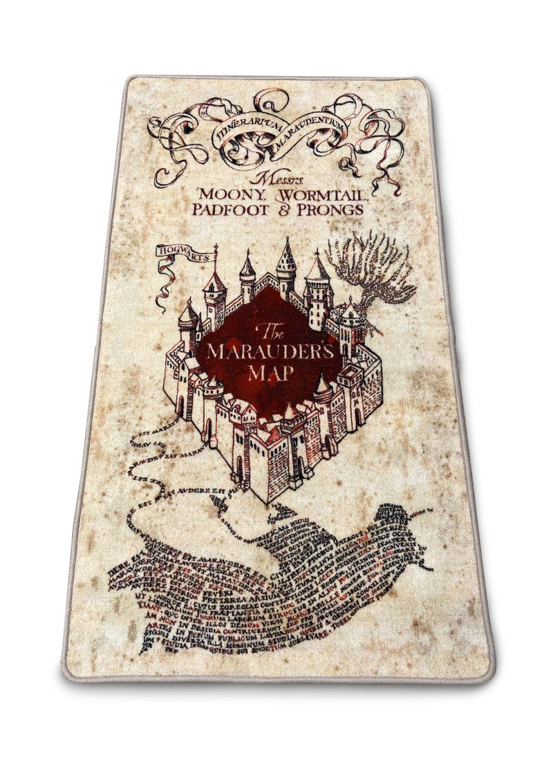 Harry Potter Marauders 76 x 133 indoor Floor mat /Merchandise