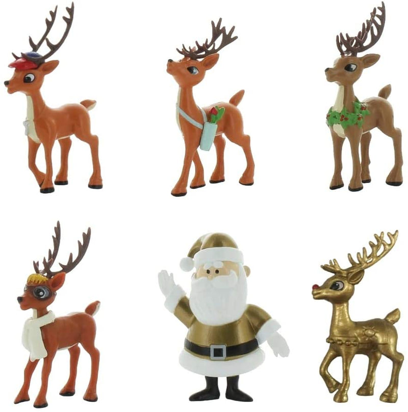 TEAM Rudolph Reindeer Stocking Foilbag 5 piece Pack For Online Customers (series 1.5) / Toys