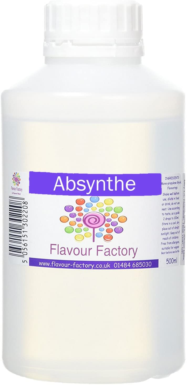 F.Factory - Absynthe Intense Food Flavouring (500 ml) /Food