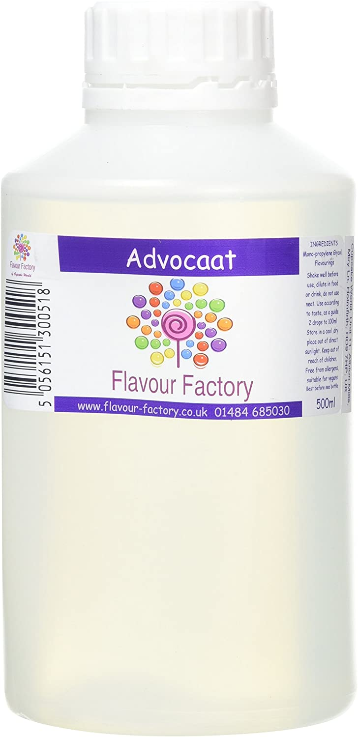 F.Factory - Advocaat Intense Food Flavouring (500 ml) /Food