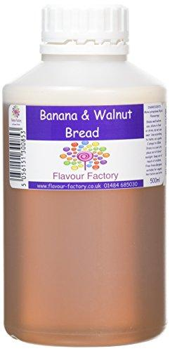 F.Factory - Banana and Walnut Bread Intense Food Flavouring (500 ml) /Food