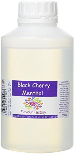 F.Factory - Black Cherry Menthol Intense Food Flavouring (500 ml) /Food