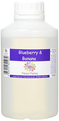 Blueberry and Banana Smoothie Intense Food Flavouring (500 ml) /Food
