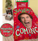 Elf Santa Single Panel Duvet /Homeware