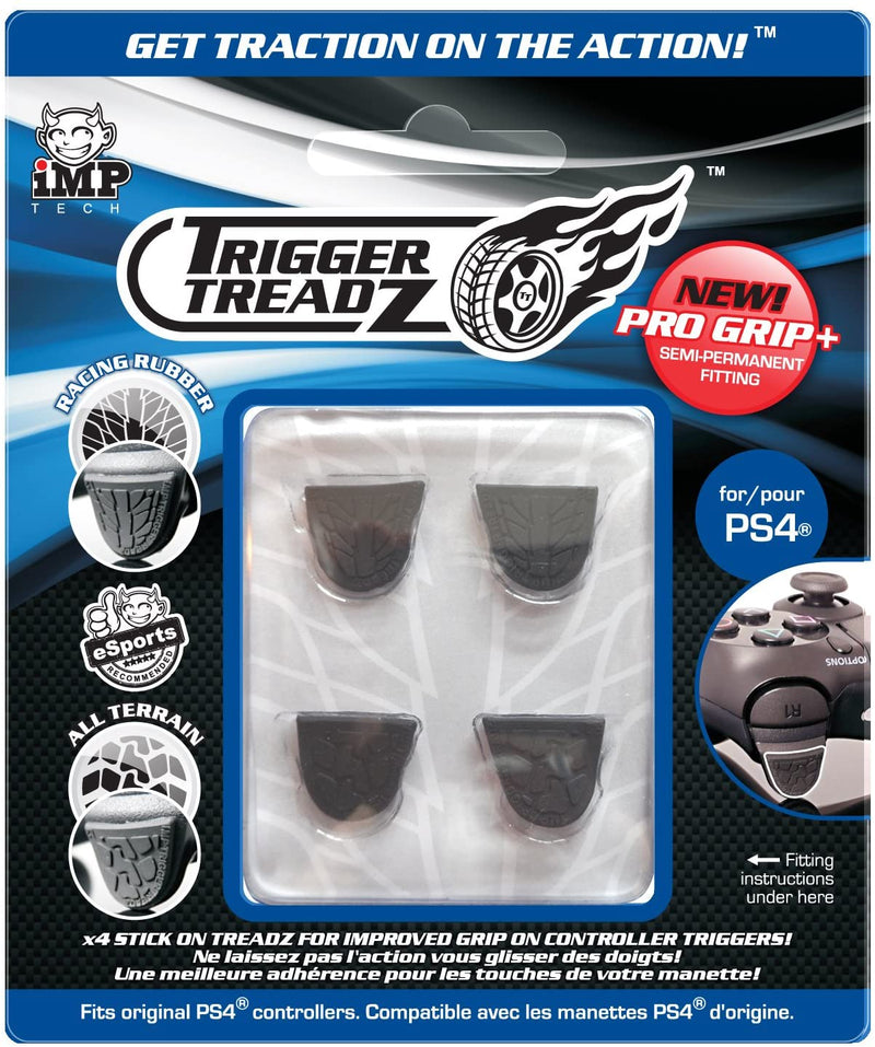 Trigger Treadz (4 Pack) [Black] /PS4