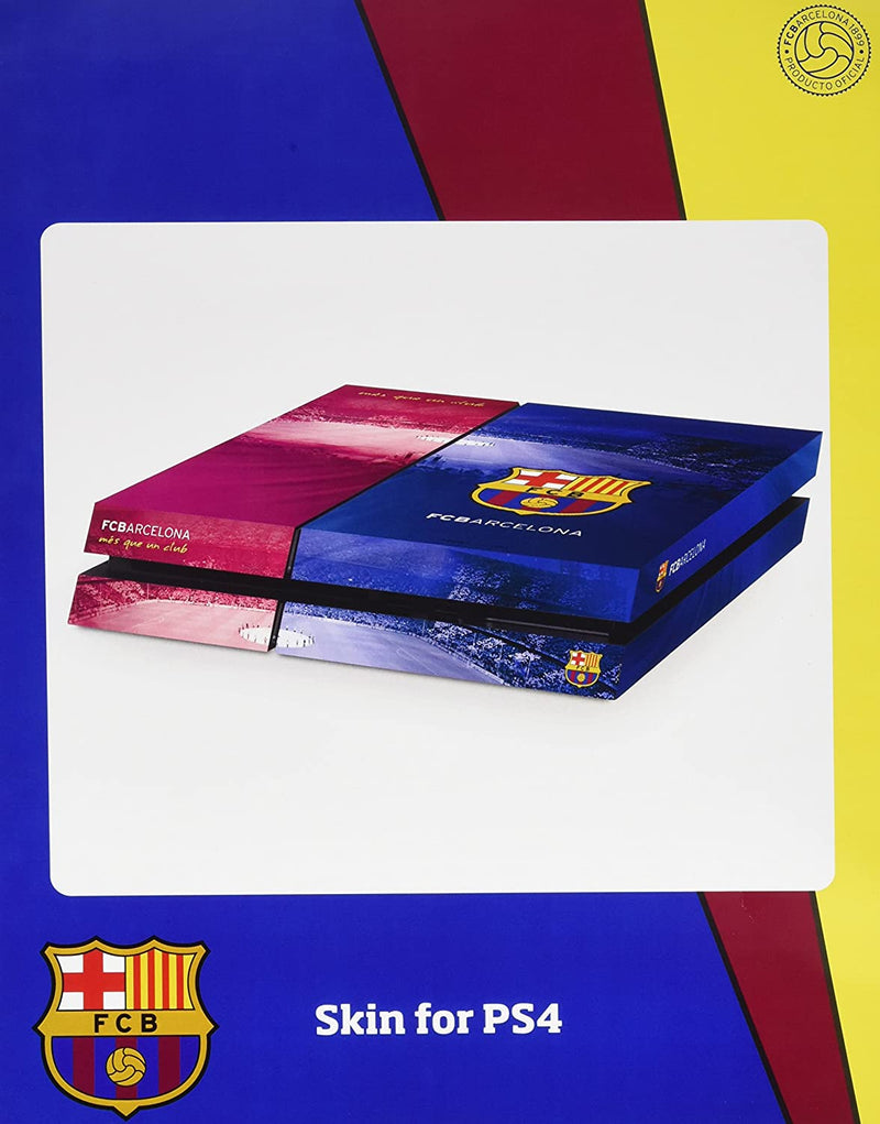Official Barcelona FC - PlayStation 4 (Console) Skin /PS4