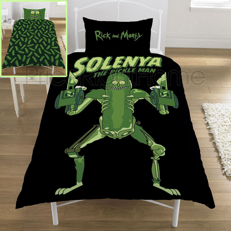 Rick & Morty Pickle Rick Rat Suit Single Duvet /Homeware