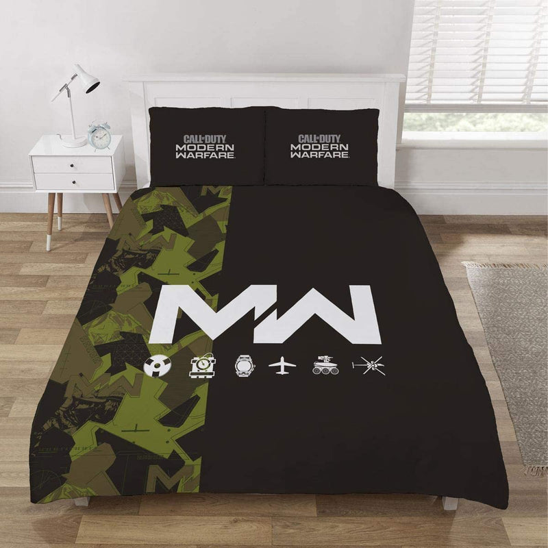 Call Of Duty MW Double Panel Duvet /Homeware