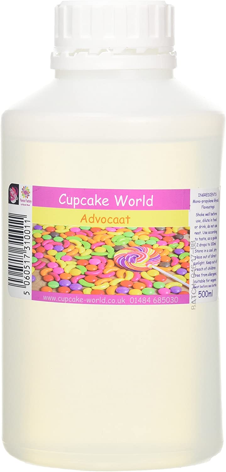 C.World - Advocaat Intense Food Flavouring (500 ml) /Food