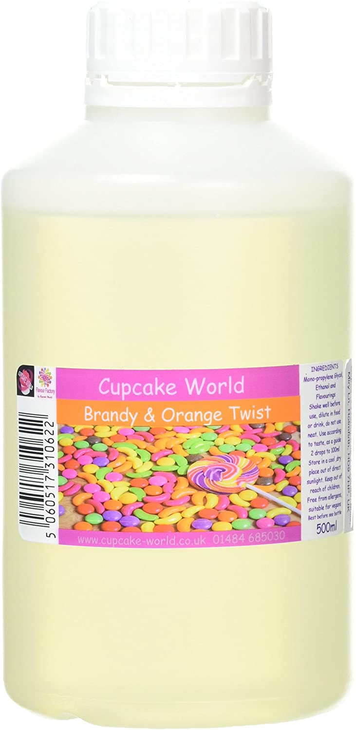 Brandy and Orange Twistl Intense Food Flavouring (500 ml) /Food